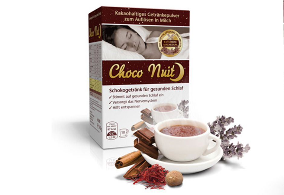 Packaging Choco Nuit