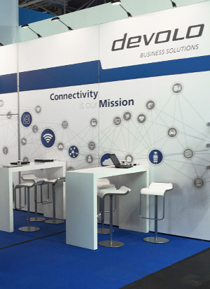 devolo Messestand Design
