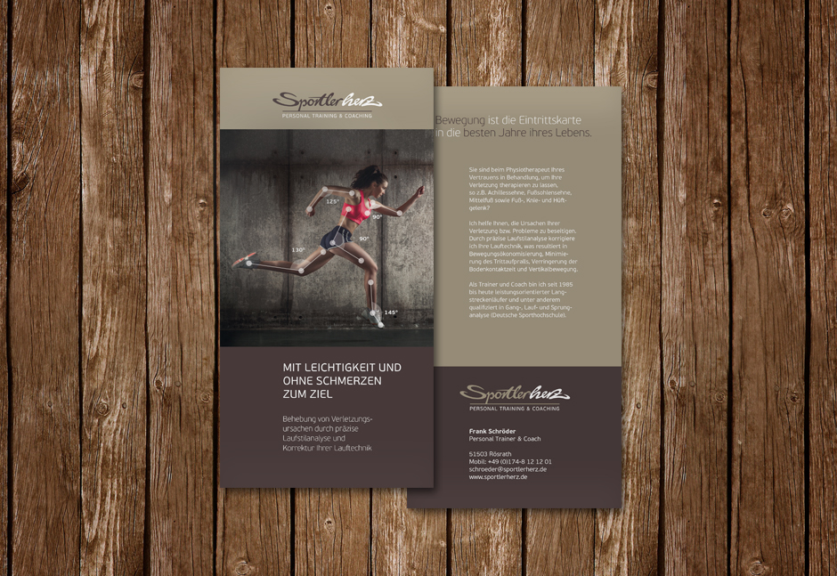Sportlerherz Flyer
